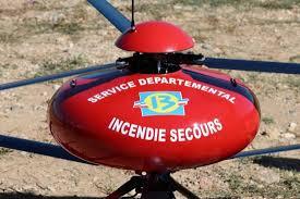 drone contre incendie